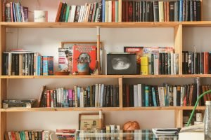 bookshelf, books, book